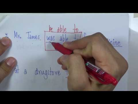 เทคนิคการทำข้อสอบภาษาอังกฤษ Error - Be able to, to infinitive, past tense - โดยครูวสันต์ อายุบเคน