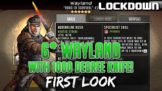 Baixar TWD RTS: 6* Wayland w/ 1000 Degree Knife! - First Look - The Walking Dead: Road to Survival