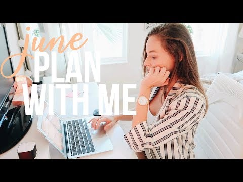 JUNE Plan With Me  inside my budget google drive & overcoming struggles
