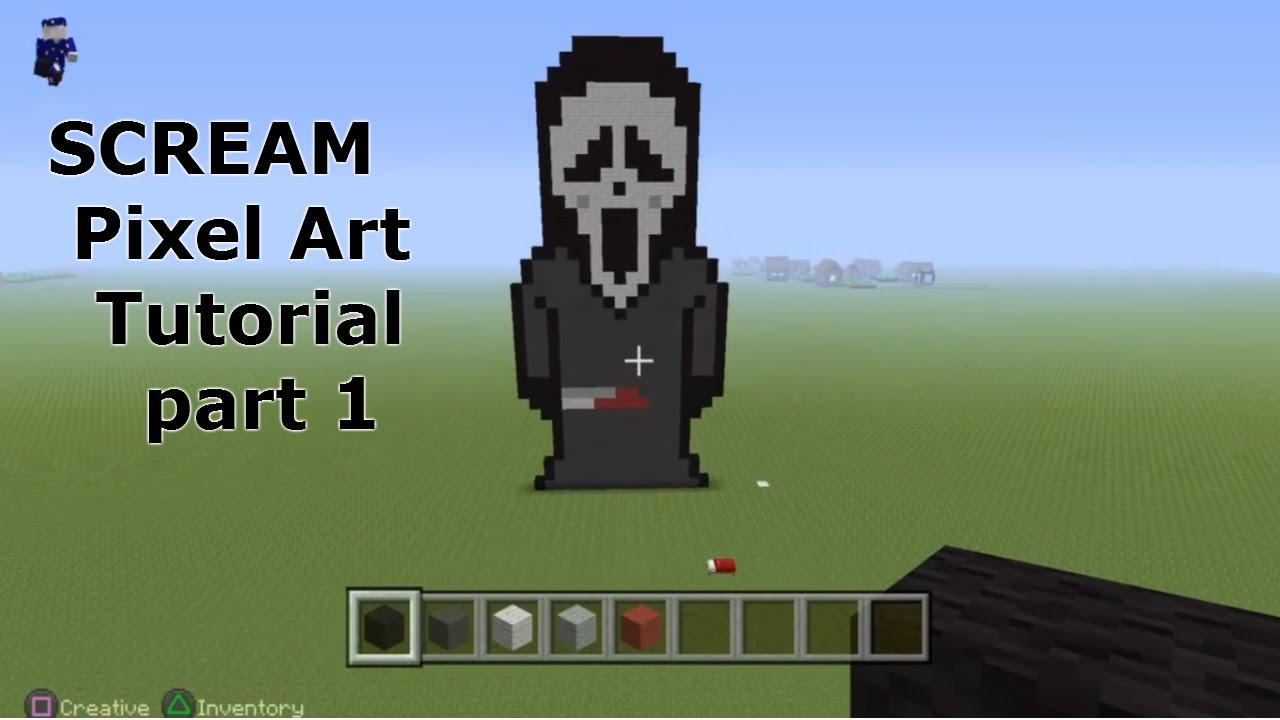 Minecraft Pixel Art Tutorial Red Ranger Fear2mine By Fear2mine