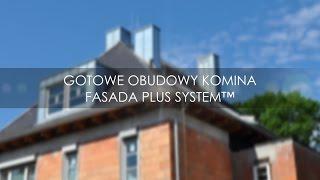Montaż Gotowych Obudów Komina Fasada Plus System™