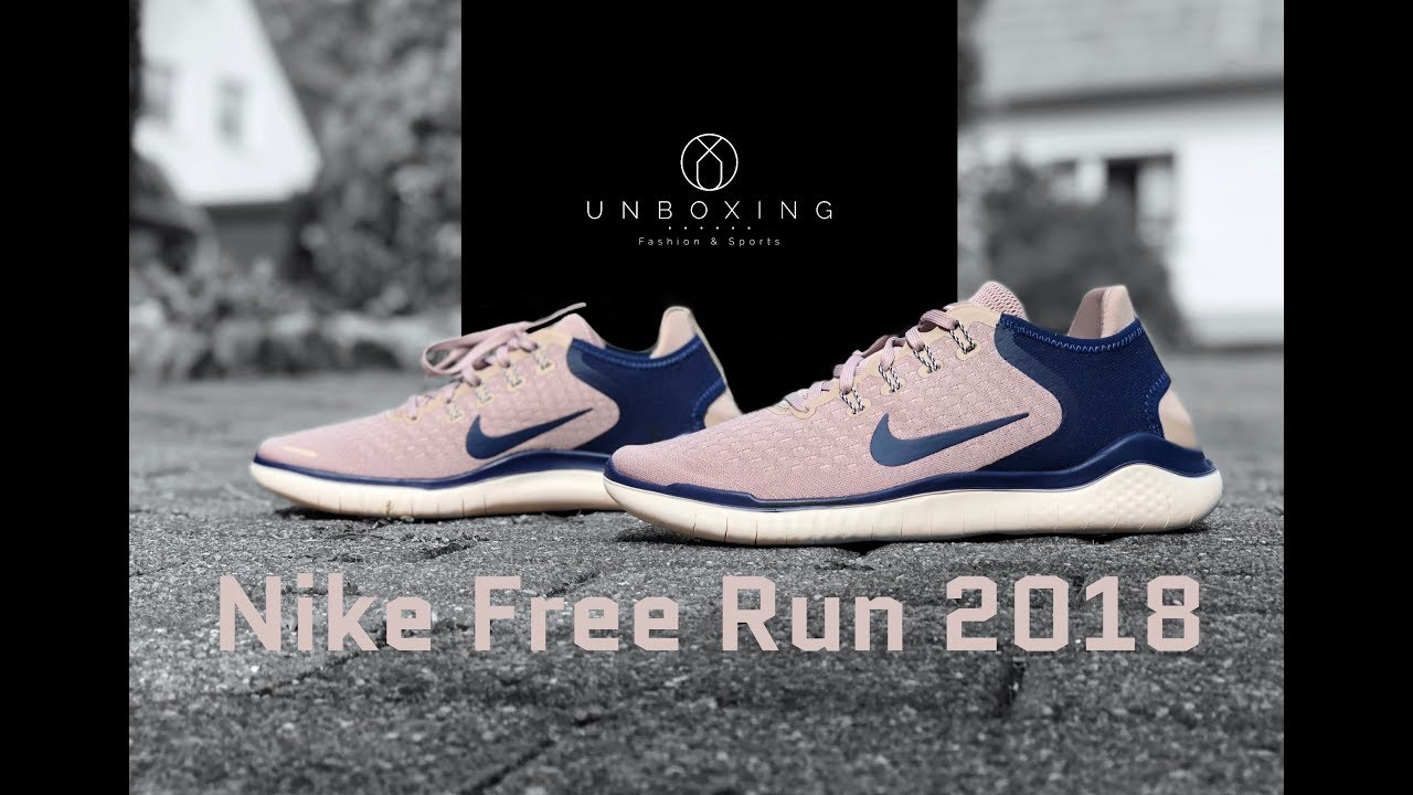premium selection 09050 14232 Nike Free Run 2018 ´diffused taupe/blue void` | UNBOXING & ON FEET |  running shoes | 2018