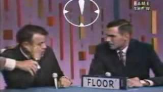 Tthe Gameshow Password - Nancy Kulp and Frank Sutton