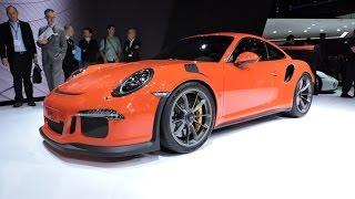 2016 Porsche 911 GT3 RS - 2015 Geneva Motor Show