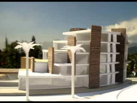 Vivienda escalonada una opci n para terrenos empinados Modelo de viviendas para construir