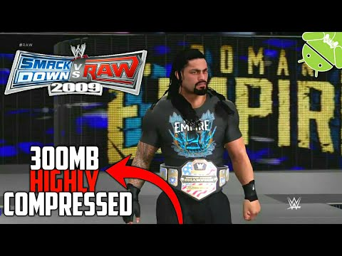 Download Wwe Smackdown Vs Raw Highly Compressed Ppsspp Iso For Android