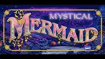 Mystical Mermaid slot bonus free spins, re-trigger & big win