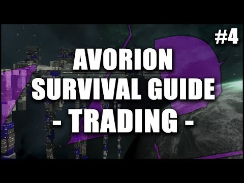 AVORION Survival Guide 4: TRADING - How to Get Rich Playing Space Trucker