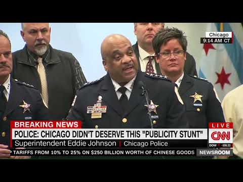 Chicago Police Superintendent: Smollett has done real harm to actual hate crime victims