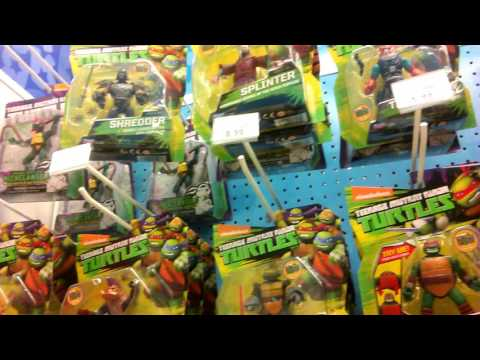Combi101: Hunting For TMNT At Toys R Us  (Stealth #46)