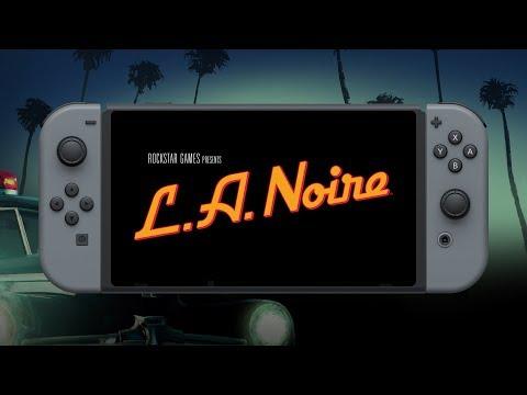 L.A. Noire Official Nintendo Switch Trailer