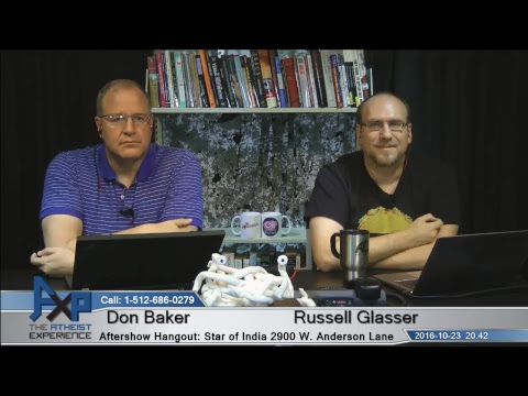 Atheist Experience 20.42 with Russell Glasser and Don Baker