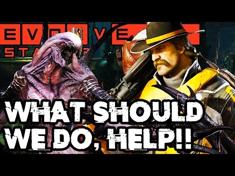 WHAT SHOULD WE HAVE DONE?? HELP!! Evolve Gameplay Walkthrough - Stage Two Hunt (PC 1080p 60fps)