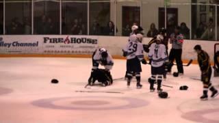USU Hockey Brawl