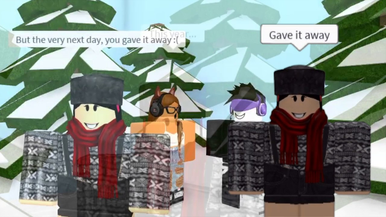 Last Christmas Roblox Music Video Christmas Special Youtube