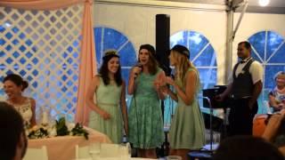 Epic Maid Of Honor Wedding Toast Rap