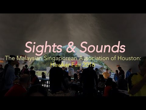 sights and sounds - MSAH Hawker Fair 2016