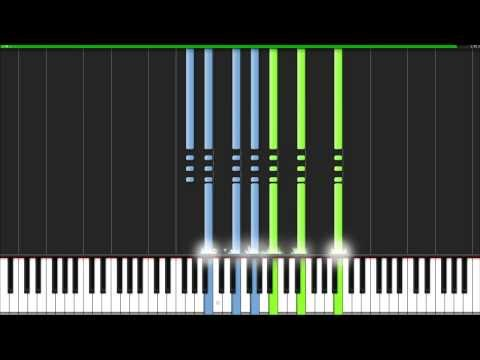 Funeral March (Opus 62, No. 3) - Felix Mendelssohn [Piano Tutorial] (Synthesia)