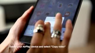 KaraFun Mobile - Use AirPlay