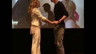 "Meg Donnelly and Milo Manheim singing and dancing ""Someday"" in Zombies premier"