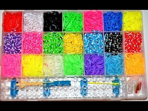 из браслетов плетения картинки резинок набора для