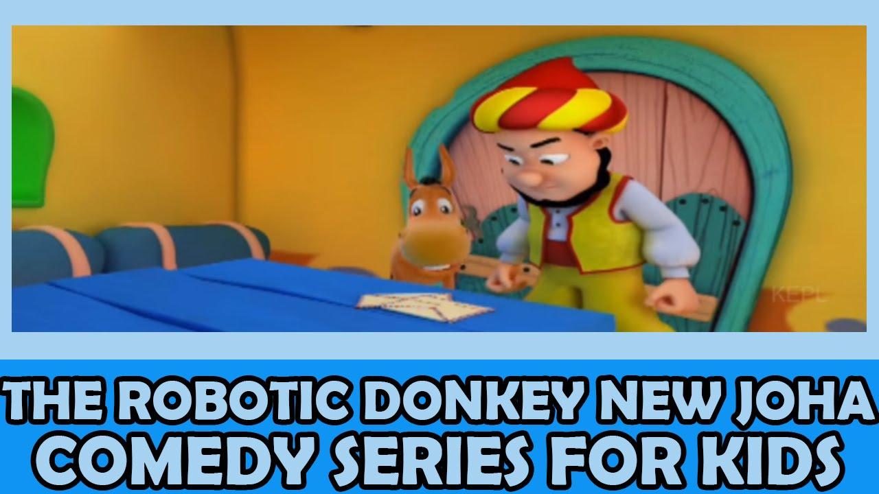 The Robotic Donkey | New Joha | 3D Comedy Story Series For Kids جديد سلسلة  جحا