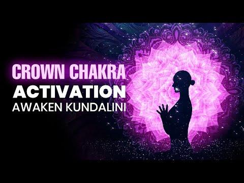 Crown Chakra Activation: Awaken Kundalini, Binaural Beats - Powerful Healing Meditation