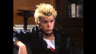 Billy Idol Generation X interview with Molly 1977