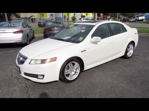 2008 Acura TL 3.2 Walkaround, Start Up, Tour And Overview
