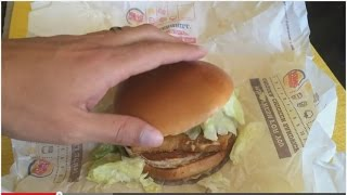 Burger King's New Spicy Big Fish Review