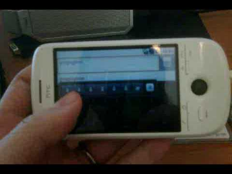 Android HTC Magic Keyboard