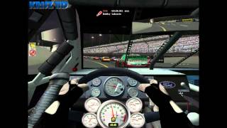 NASCAR SimRacing HD Gameplay (M)(HUN)