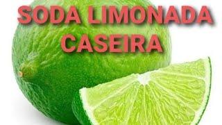 Refrigerante caseiro(soda limonada)