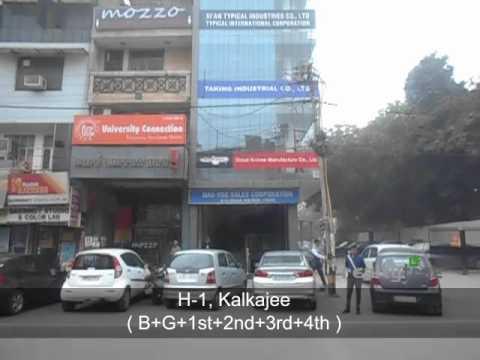 Commercial Space for Rent in Kalkaji, New Delhi, India(H1)