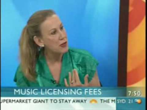 Lindy Morrison (PPCA) verses Susan Kingsmill (gym industry) discuss crazy copyright proposal
