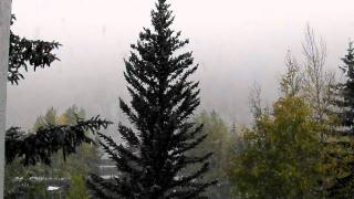 First Snowfall Vail Colorado October 6 2011 Thumbnail