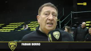 Fabian Borro - Post Final Four 2017 - LFB