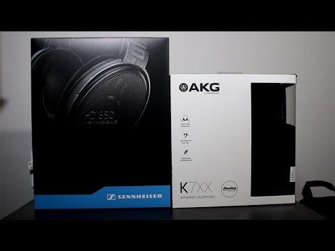 Sennheiser HD650 (HD6XX) Vs AKG K7XX