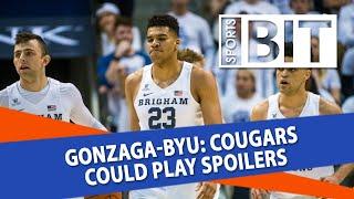 Gonzaga Bulldogs at BYU Cougars   Sports BIT   NCAAB Picks