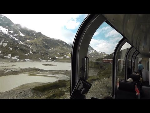 Bernina Express video guide, Milan to Zurich