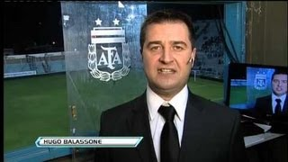 Hugo Balassone. Vélez - Rafaela. Fecha 8. Torneo Inicial 2013. Fútbol Para Todos