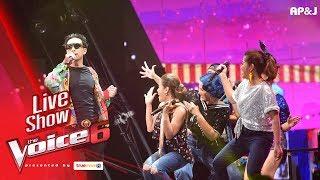 โชว์ทีมโจอี้ บอย - งานวัด - Live Show - The Voice Thailand - 11 Feb 2018
