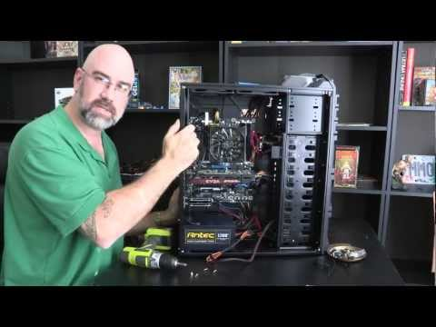 How To Build a Custom Gaming Computer - Extreme Cable Management