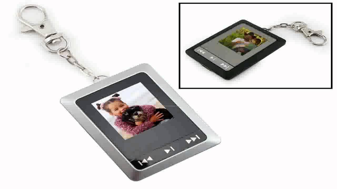 Digital Photo Frame Keychain - YouTube