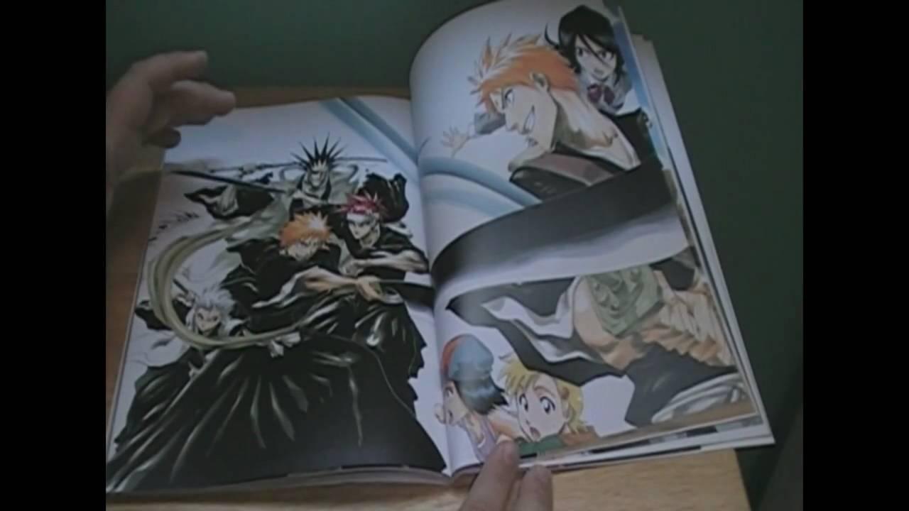 Bleach Art Book All Colour But The Black