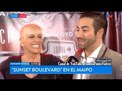 "Teatro: ""Sunset boulevard"" Valeria Lynch y Mariano Chiessa Estreno abril Teatro Maipo"