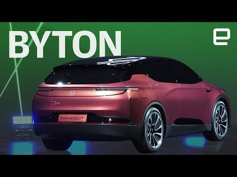 Byton first look at CES 2018