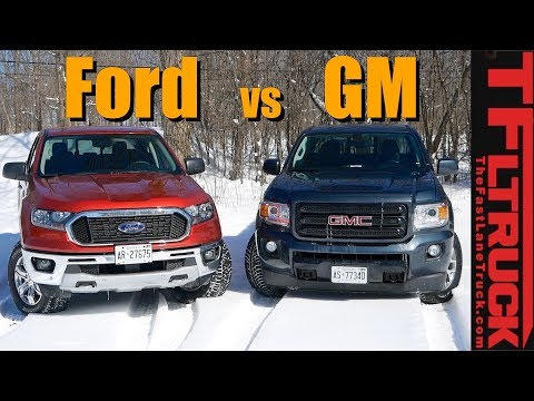 What's the Best American Midsize Truck? Ford Ranger FX4 vs GMC Canyon All Terrain