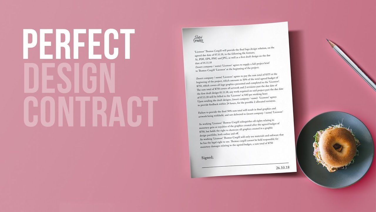 do you need a design contract must know satori graphics