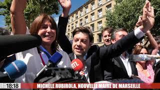 Premier bain de foule pour la nouvelle maire de Marseille